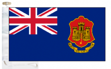 Gibraltar State Blue Ensign Courtesy Boat Flags (Roped and Toggled)